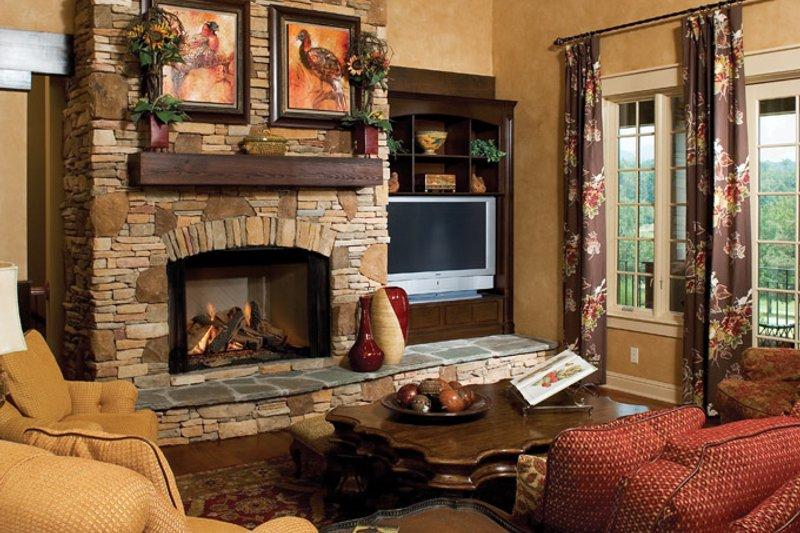 Craftsman Interior - Family Room Plan #929-932 - Houseplans.com