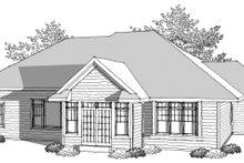 Dream House Plan - Ranch Photo Plan #70-1032