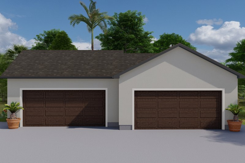 Dream House Plan - Traditional Exterior - Front Elevation Plan #1060-127