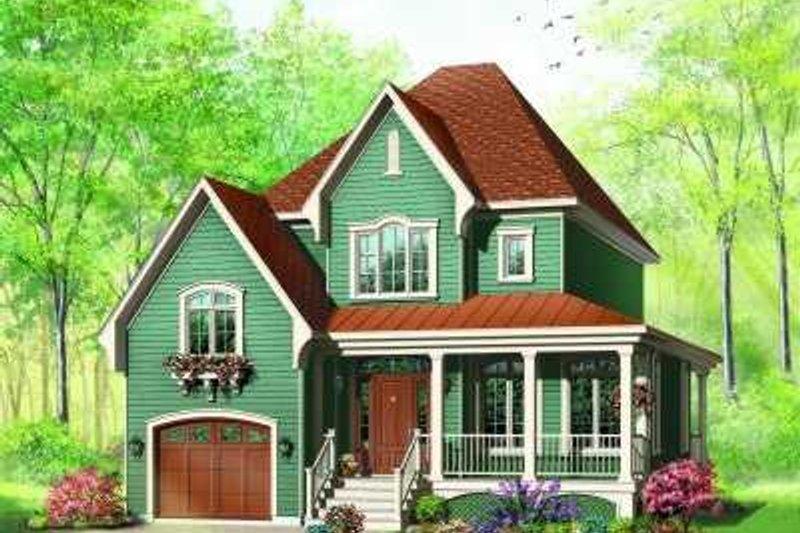 Dream House Plan - European Exterior - Front Elevation Plan #23-362
