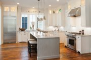 Country Style House Plan - 3 Beds 3.5 Baths 2843 Sq/Ft Plan #928-251 Interior - Kitchen