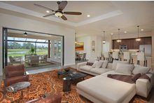 Dream House Plan - Mediterranean Interior - Family Room Plan #938-90