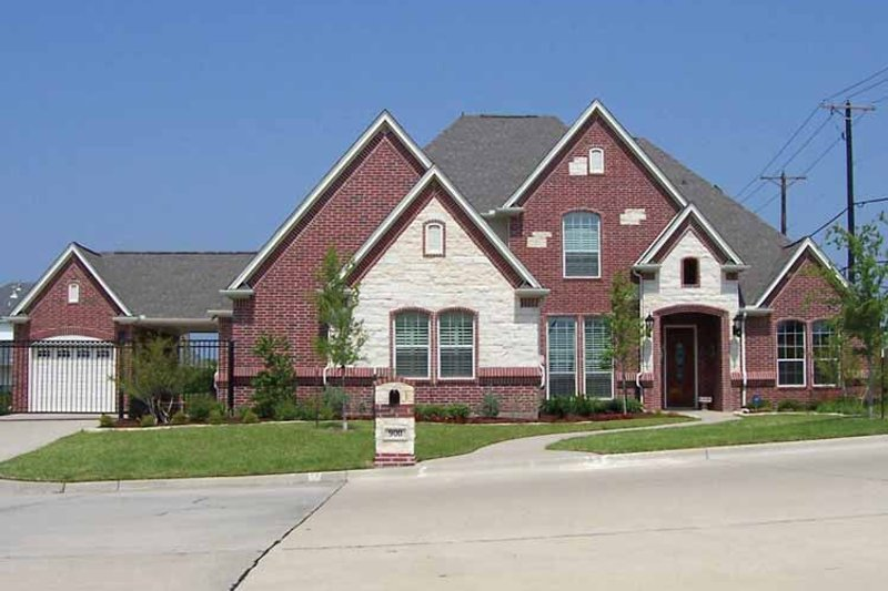 Tudor Exterior - Front Elevation Plan #84-736 - Houseplans.com