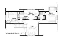 Log Floor Plan - Upper Floor Plan Plan #928-263