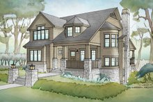 House Plan Design - Traditional Exterior - Front Elevation Plan #928-271