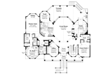 Country Floor Plan - Main Floor Plan Plan #930-472