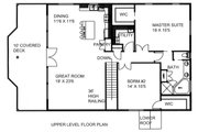 Country Style House Plan - 2 Beds 2 Baths 2638 Sq/Ft Plan #117-881 Floor Plan - Main Floor Plan
