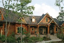 House Plan Design - Craftsman Exterior - Front Elevation Plan #54-364
