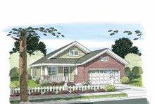 Craftsman Exterior - Front Elevation Plan #513-2106