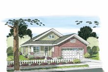 House Plan Design - Craftsman Exterior - Front Elevation Plan #513-2106