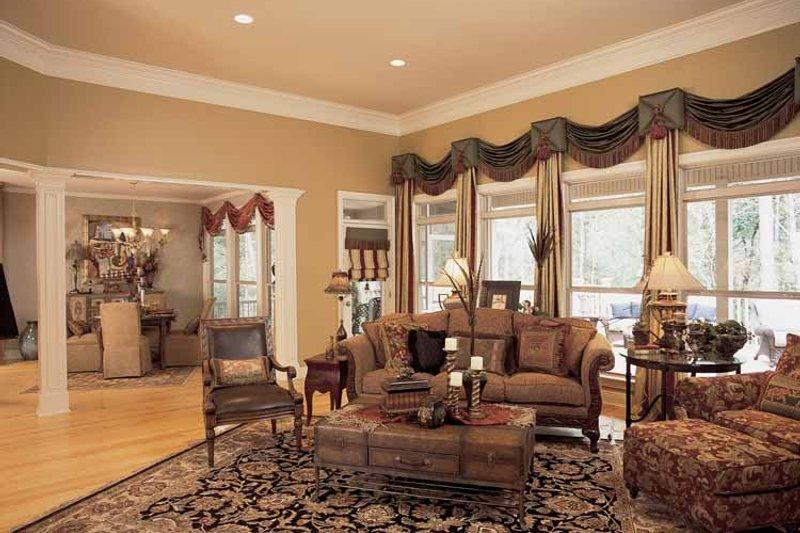Traditional Interior - Family Room Plan #37-274 - Houseplans.com
