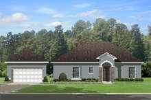 Mediterranean Exterior - Other Elevation Plan #1058-115