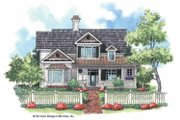Victorian Style House Plan - 3 Beds 3 Baths 2328 Sq/Ft Plan #930-179 Exterior - Front Elevation