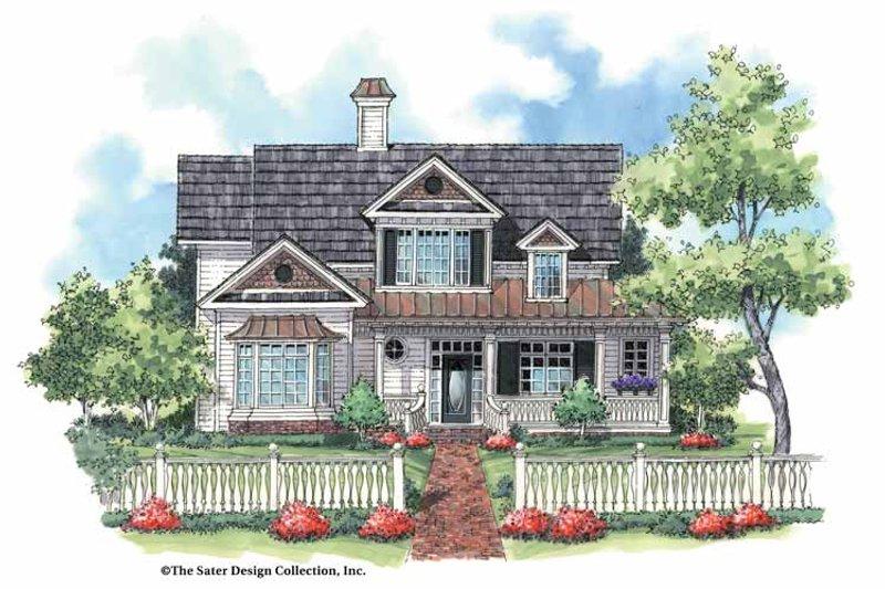 Victorian Exterior - Front Elevation Plan #930-179 - Houseplans.com