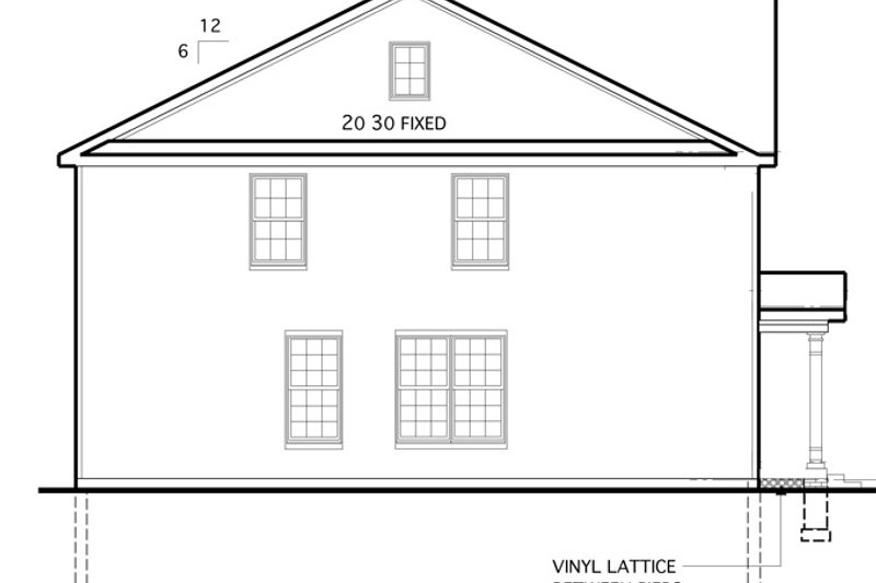 Colonial Exterior - Other Elevation Plan #1053-54 - Houseplans.com