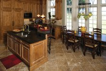 Mediterranean Interior - Kitchen Plan #929-900