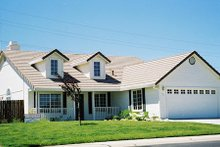 Dream House Plan - Ranch Exterior - Front Elevation Plan #437-12