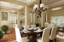 House Blueprint - Southern Interior - Dining Room Plan #45-600