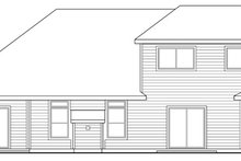 Mediterranean Exterior - Rear Elevation Plan #124-449