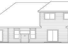 Home Plan - Mediterranean Exterior - Rear Elevation Plan #124-449