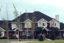 House Plan Design - European Exterior - Front Elevation Plan #5-227