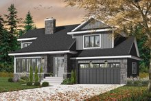Dream House Plan - Traditional Exterior - Front Elevation Plan #23-712
