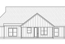 House Blueprint - Farmhouse Exterior - Rear Elevation Plan #1074-45