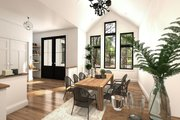 Farmhouse Style House Plan - 3 Beds 2 Baths 2117 Sq/Ft Plan #23-2723 Interior - Dining Room
