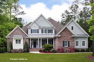 Traditional Exterior - Front Elevation Plan #929-811