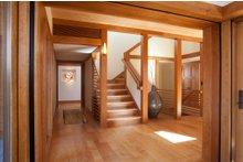 Craftsman Interior - Entry Plan #454-14