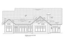Dream House Plan - Craftsman Exterior - Rear Elevation Plan #453-8
