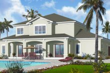 Dream House Plan - Mediterranean Exterior - Rear Elevation Plan #23-2249