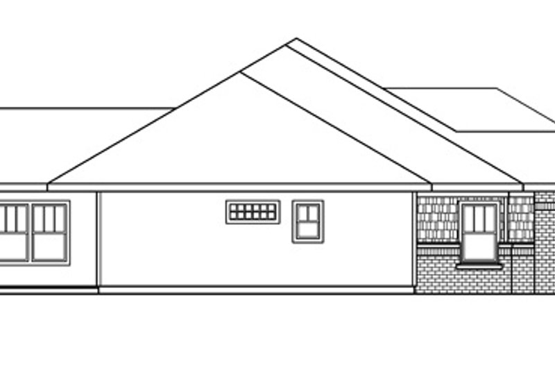 Craftsman Exterior - Other Elevation Plan #124-689 - Houseplans.com