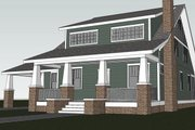 Craftsman Style House Plan - 4 Beds 3 Baths 2250 Sq/Ft Plan #461-30 Photo