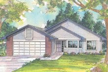 House Design - Traditional Exterior - Front Elevation Plan #124-414