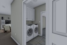 Traditional Interior - Laundry Plan #1060-54