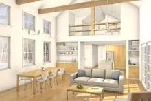 Cabin Interior - Other Plan #497-47