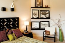 Architectural House Design - Country Interior - Bedroom Plan #929-13