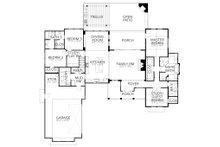 Farmhouse Floor Plan - Main Floor Plan Plan #80-219