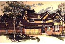 Home Plan - Craftsman Exterior - Front Elevation Plan #320-334