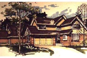 Craftsman Exterior - Front Elevation Plan #320-334