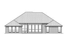 Home Plan - European Exterior - Rear Elevation Plan #84-483