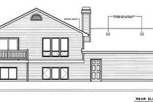 Traditional Exterior - Rear Elevation Plan #97-304