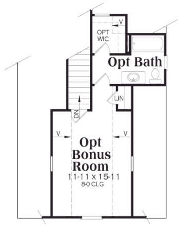 European Floor Plan - Other Floor Plan Plan #419-126