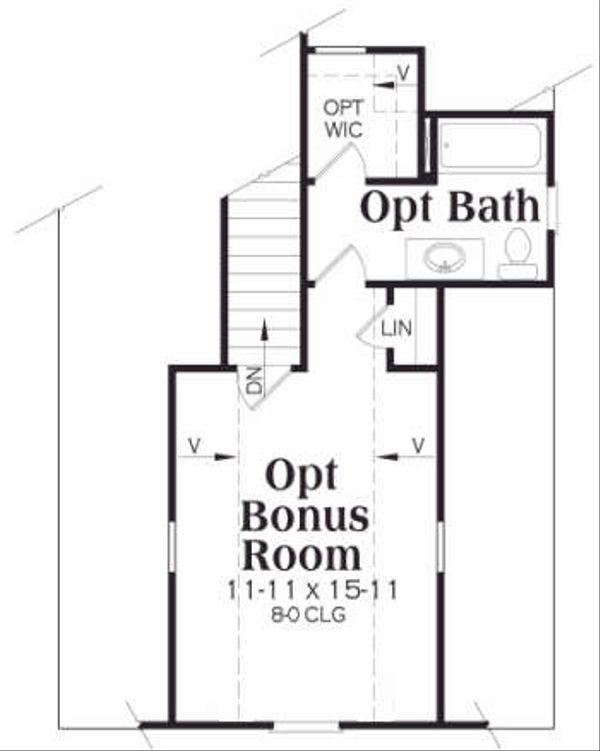 European Floor Plan - Other Floor Plan Plan #419-126