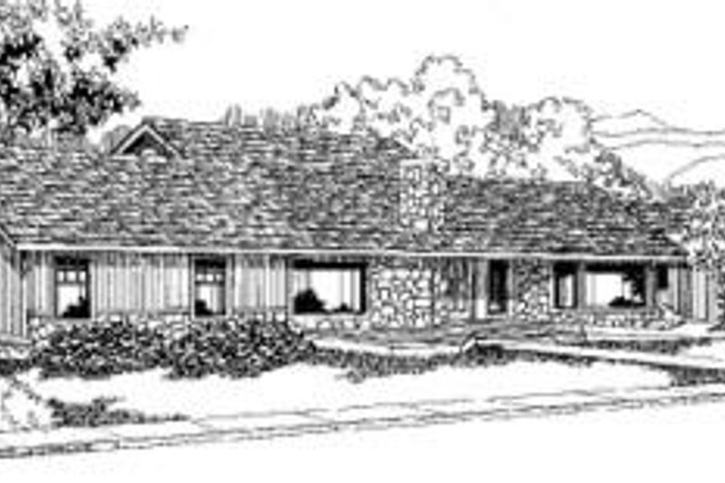 Traditional Exterior - Front Elevation Plan #60-321