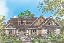 Country Exterior - Front Elevation Plan #929-49