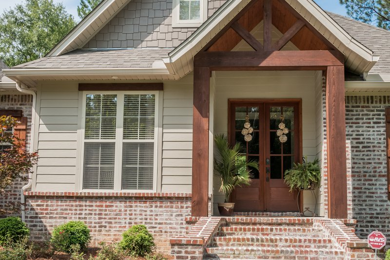 Craftsman Exterior - Front Elevation Plan #430-99 - Houseplans.com