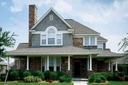 Victorian Style House Plan - 4 Beds 3 Baths 2213 Sq/Ft Plan #410-112 Exterior - Other Elevation