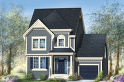 Country Style House Plan - 3 Beds 1 Baths 1664 Sq/Ft Plan #25-4602 Exterior - Front Elevation